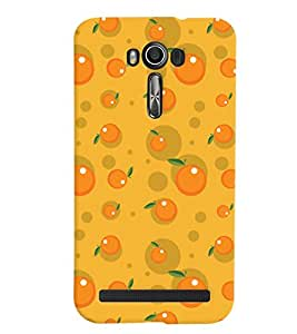 ColourCrust Asus Zenfone 2 Laser ZE500KL Mobile Phone Back Cover With Fruity Pattern Style - Durable Matte Finish Hard Plastic Slim Case