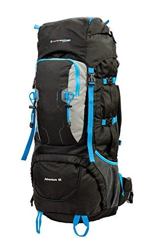 Mountainshack Aventure Camping, randonnée et Voyage Grande Poids léger 65 Litre Sac à Dos Sac à Dos
