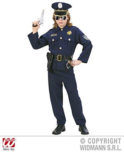 Police Uniform Officer (KINDERKOSTÜM - POLICE OFFICER - Größe 158 cm, Uniformen Polizei Polizisten)