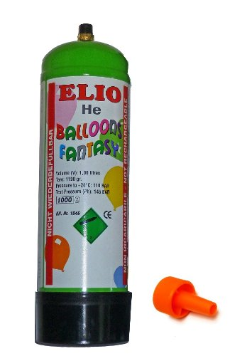 HELIUM-SET 1 Liter Flasche 12-14 weiße Herzluft ballons steigen lassen Hochzeit Liebe Herz