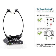 TV-Ears 5.0 Analog Headset - Auriculares in-ear inalámbricos (reducción de ruido