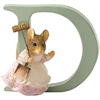 Beatrix Potter Alphabet Letter D Hunca Munca Sweeping Figurine