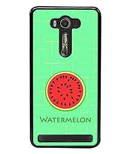 Fuson Designer Back Case Cover for Asus Zenfone 2 Laser ZE550KL (5.5 Inches) (Fresh Melon Healthy Summer Boy Girl Male )