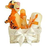 Tigro Winnie the Poo Baby Baby Cestino/Cestino regalo/unisex bambino doccia Regali/regalo/Nuovo arrivo Regalo/regalo maternità/Unisex bambino Cesto Regalo per Battesimo/spedizione veloce