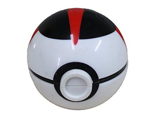 Weißer und roter Ball Schleifer mit Magnetverschluss 6X6X6 cm Cosplay PIDAK Shop
