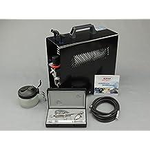 Harder & steenb d'angle ultra Two in One Set complet avec compresseur Airbrush. Kit aérographe professionnel. 0,2/0.4mm Buse taux. Les meilleurs des meilleurs.