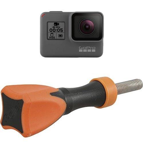 GoPro HERO5 Black Action Kamera (12 Megapixel) schwarz/grau + Rollei Actioncam Feststellschraube - für Rollei Actioncam und GoPro