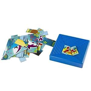 Lisciani - 49400 - Puzzle Avec Cadre - Baby Form Avec Les Animaux Marins - 25 Pièces