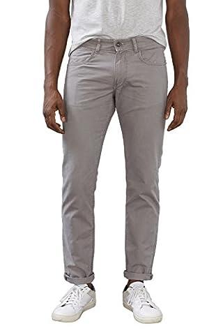 ESPRIT Herren Hose 027EE2B024-5 Pocket, Grau (Light Grey 040),