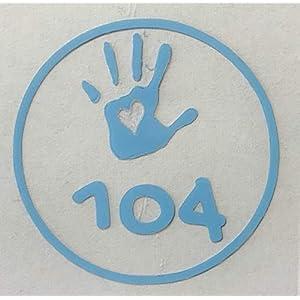 10 x Grössenlabel Rund zum Aufbügeln Kinder Baby Grössenetiketten Kinderkleidung individualisierbar verschiedene Farben wählbar