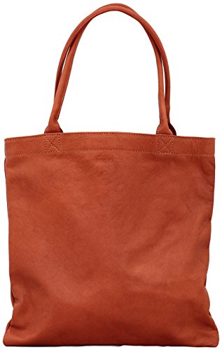MON PARTENAIRE S Naturel sac à main en cuir forme cabas style vintage PAUL MARIUS
