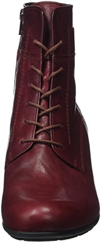 Gabor Basic, Bottes Classiques Femme Rouge (Dark-Red 55)