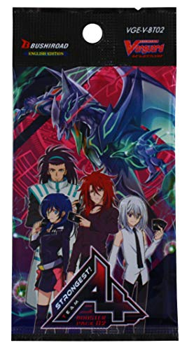 Cardfight Vanguard VGE-V-BT02-EN G-Strongest Team AL4 Booster Display Box für 16 Packungen