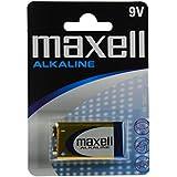 Maxell LR09-B1MXL - Pila alcalina LR-09 9V