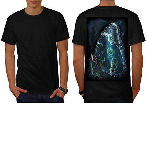 papillon-beaute-art-punaise-style-homme-nouveau-noir-l-t-shirt-reverse-wellcoda