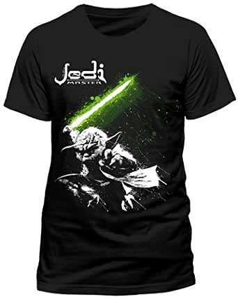Official Star Wars Yoda Jedi Master Adult T-Shirt (Small)