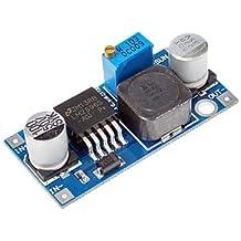 DZXGJ® Ultra-pequeño módulo LM2596 Fuente de alimentación DC / DC Buck 3A ajustable Ultra LM2596S Regulador Módulo Buck 24V Interruptor 12V 5V 3V