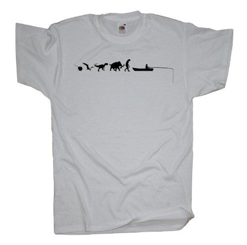 Ma2ca - 500 Mio Years - Hochseeangeln Angler T-Shirt White