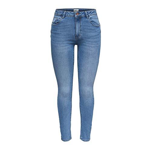 ONLY Damen Jeanshose onlKENDELL ANKZIP MB DNM JEA BJ8365 NOOS, Blau ... b6e8860c54