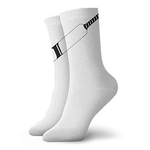 Drempad Luxury Sportsocken Cricket Bat Women & Men Socks Soccer Sock Sport Tube Stockings Length 11.8Inch