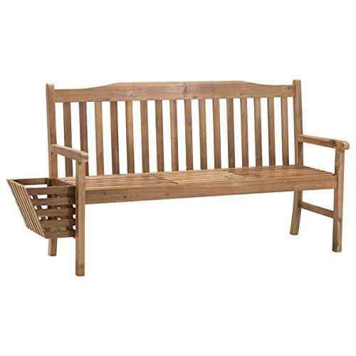 Gartenbank Holz braun OUTLIV. Sydney 3-Sitzerbank 150cm Akazie FSC Sitzbank Gartenmöbel - 3