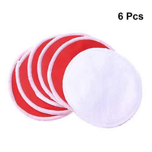 RUFANGTIE 6 Pcs Waschbar Wiederverwendbare Brust Stillen Pads Fütterung Pad Schutz Für Mutter - Sexy Form-fitting