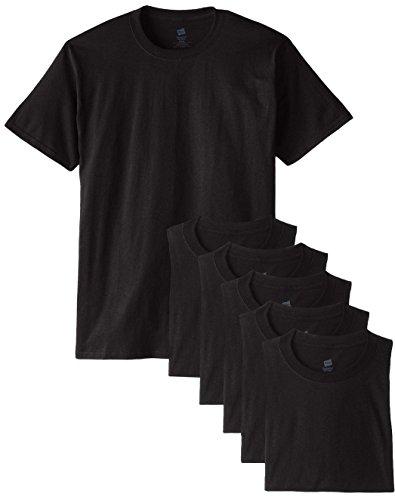 Hanes Herren T-Shirt Schwarz