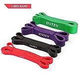 INTEY Bande Elastiche Resistenza - 7-16 kg-Ultralight Elastici Fitness per Stiramento Powerlifting Elastico Loop Bands con Borsa per Il Trasporto