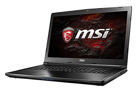 MSI GL72 7RD-035FR Ordinateur Portable Hybride Noir 17,3'' (Intel Core