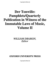Der Tonwille: Pamphlets in Witness of the Immutable Laws of Music Vol 2