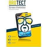 2x BROTECT HD-Clear Láminas de protección para Sony HDR-AX2000E (gran nitidez, repele la suciedad)