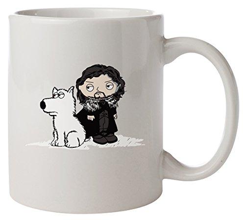Game of Thrones Stewie John Snow Kaffeetasse