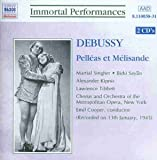 Debussy: Pelléas et Mélisande (Gesamtaufnahme) (Aufnahme New York 13.01.1945)