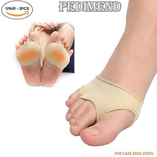 Pedimend pedimendttm Stoff Gelpads für Mittelfußknochen,-Vorfuß Kissen Bezüge Metatarsal-Metatarsal Arch Support-Morton-Neuralgie-Orthopädische fügt-Ball of Foot Kissen-Unisex-Foot Care