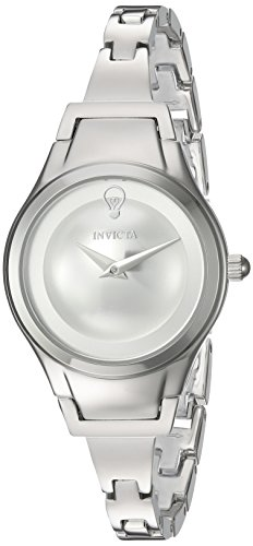 Invicta Women's 'Gabrielle Union' Quartz Stainless Steel Casual Watch, Color:Silver-Toned (Model: 23271)