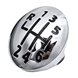 YONGYAO 5 6 Speed Gear Shift Knob Cap Cover Insert for Renault Clio Megane Scenic...