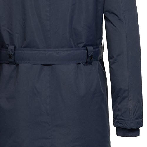 Geographical Norway Herren Jacke Winterparka Ametyste Fellkapuze Navy