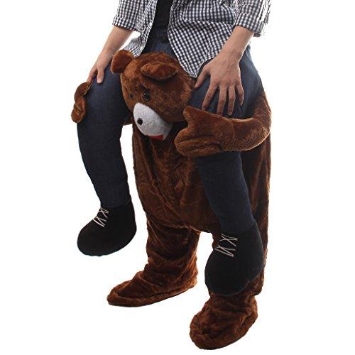 ostüme, Bärenkostüm Kostüme für Männer Erwachsene Paare , für Fasching Karneval Fasnacht, als Geschenk zum Geburtstag oder Weihnachten geeignet (Paare Nette Halloween-kostüme)