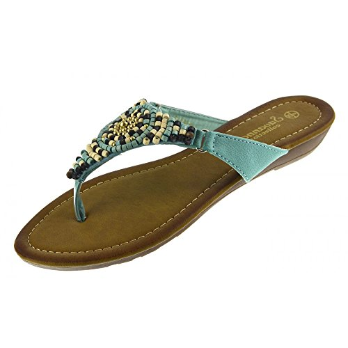 Türkis Summer Kick Footwear Fashion Sandals Ladies qZwWR0w1