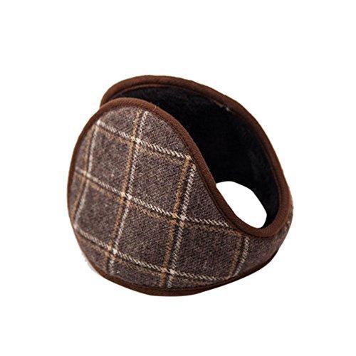 Haodasi Unisex Hiver Warm Cache-oreilles Simple Earlap Wrap Band Ear Protection Earwarmers 09#