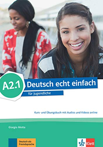 deutsch echt einfach! a2.1, libro del alumno y libro de ejercicios con audio online