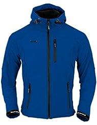 Izas Tahoe - Chaqueta de montaña para mujer, color azul royal / negro, talla L