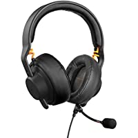 Fnatic Gear Duel Gaming Headset Over Ear & On-Ear, Detachable Microphone AIAIAI TMA-2 Preset Black