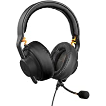 Fnatic Gear Gaming-Headset Duel (Over-Ear & abnehmbares On-Ear, micrófono, AIAIAI TMA-2 Preset) negro.