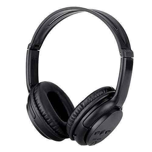 OPAKY Drahtlose Kopfhörer Headset Noise Cancelling Kopfhörer-Karte TF und UKW-Radio, für iPhone, iPad, Samsung, Huawei,Tablet usw