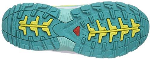 Salomon Wings Cswp, Chaussures de Randonnée Basses Mixte Enfant Jaune (CITRUS-X/White/Teal Blue F)