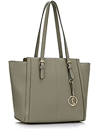 bdb64a24ba8e Ladies Over Sized Handbags Women s Faux Leather Designer Shopper Shoulder  Bags Tote Bag CWS00464 (CWS00464