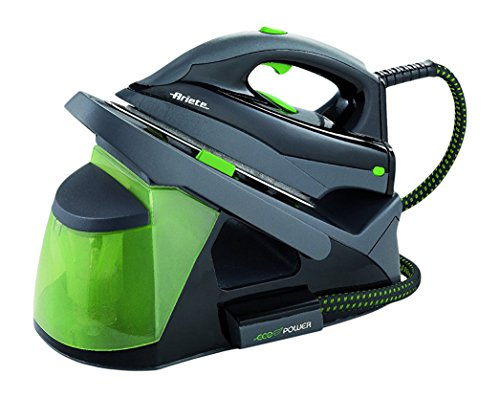 Ariete 6430 stiromatic eco power - ferro da stiro, 2.000 w, colore: verde e grigio