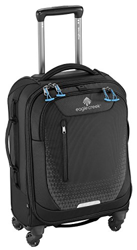 Eagle Creek Vergrößerbarer Handgepäckkoffer Expanse AWD International Carry-On mit Rollen Koffer, 54 cm, 36 L, schwarz (Reisenden Internationalen Koffer)