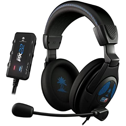 Turtle Beach - Auriculares Ear Force PX22, Con Cable, MLG Licensed (PS3, PS4, Xbox 360)